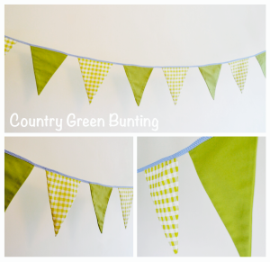 Country Green Bunting