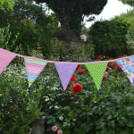 Wedding bunting hire and bunting made to order